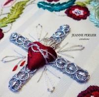 JEANNE PERLIER - Levantine - détail Sacré-Coeur