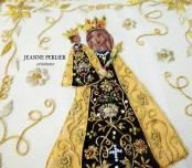 JEANNE PERLIER - Pale de la Vierge d'Altotting 2 - détail