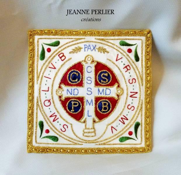 JEANNE PERLIER - Pale Saint Benoit - vue de face