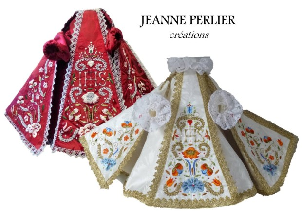 JEANNE PERLIER - Infant Jesus vestments
