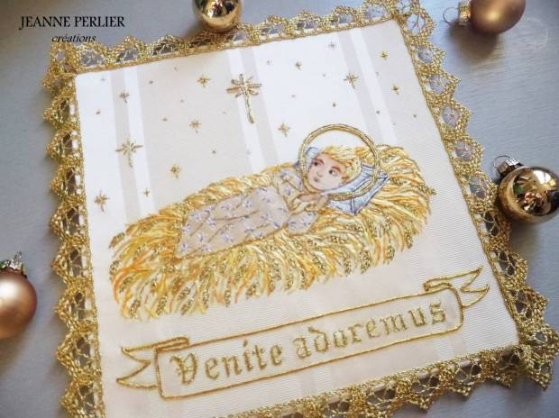 JEANNE PERLIER - Venite adoremus pall - Merry Christmas