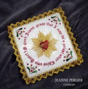 JEANNE PERLIER - The Priest's orison pall - biais