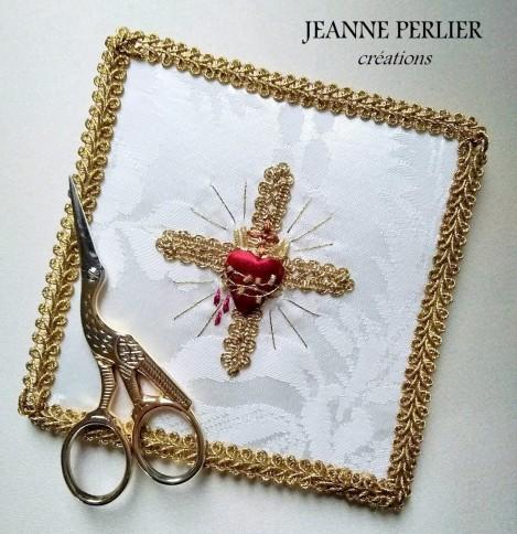 JEANNE PERLIER - petite pale pour valise chapelle
