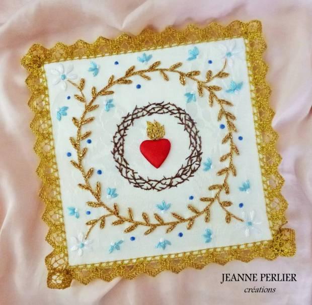 Coeur Immaculé de Marie - JEANNE PERLIER créations
