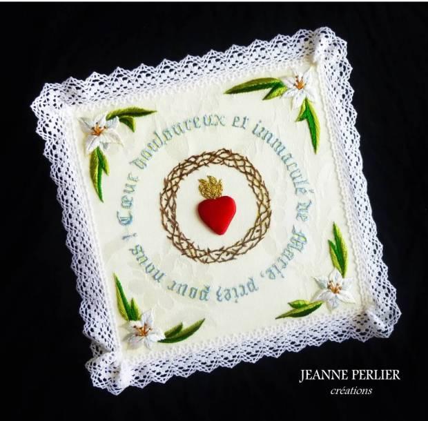JEANNE PERLIER - Coeur douloureux - biais